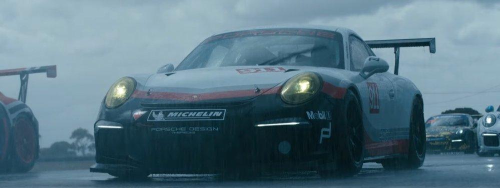 Porsche GT3 Race Car