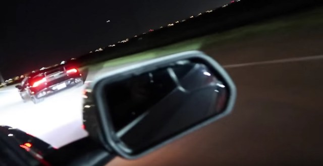 Twin Turbo Lamborghini vs Mustang Street Race
