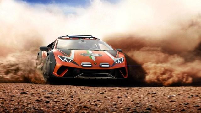 Lamborghini Huracan Sterrato Rally Off-Road Concept