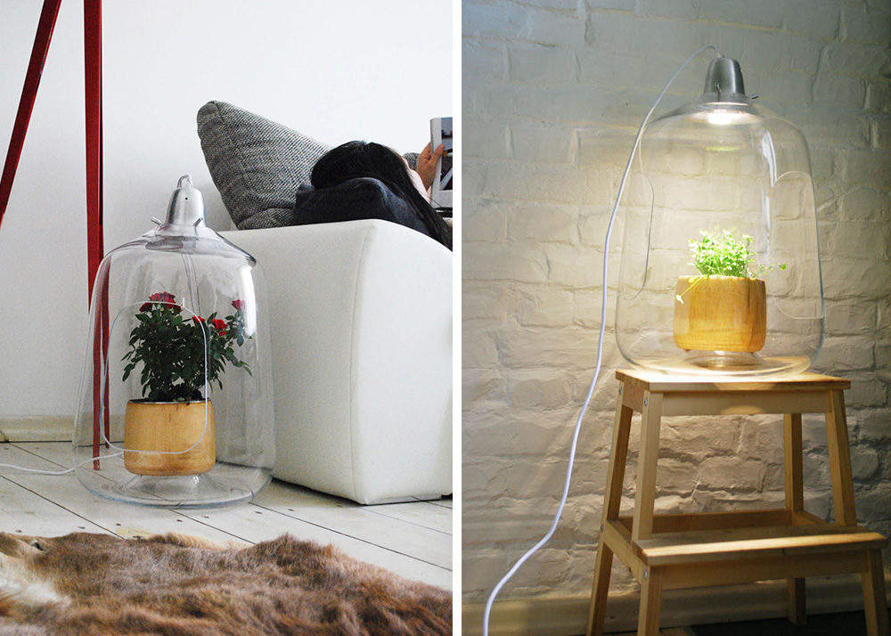 Milo is a GreenhouseLamp That Cares for Your Indoor