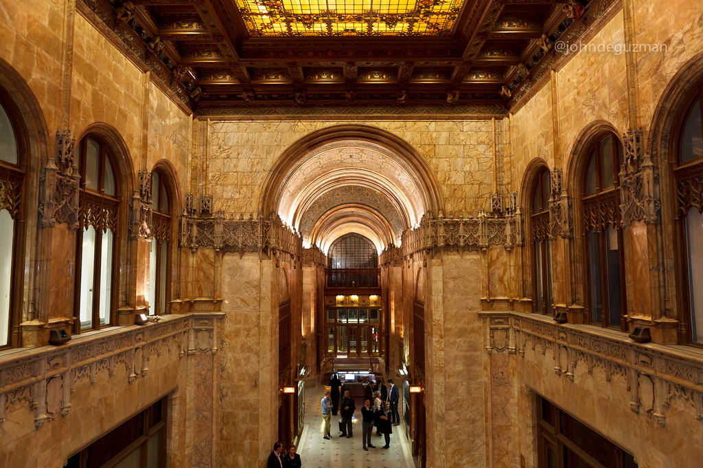 Accounting for the Strange Faces That Adorn the Woolworth Building And Other Fun Facts  6sqft
