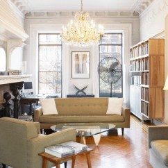 Living Room Furniture Brooklyn Paintings For Sale We Design's Brownstone Renovation Melds The Old With Mid ...