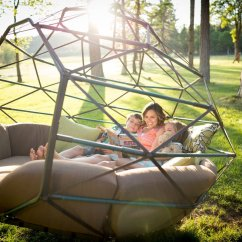 Hanging Tree Swing Chair Small Space Table And Chairs Kodama Zomes Geodesic Homes For Lazing The Summer