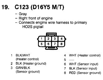 o2 sensor wiring diagram wiring diagram civic hx owners wiring ion 5 wire o2 sensor honda tech