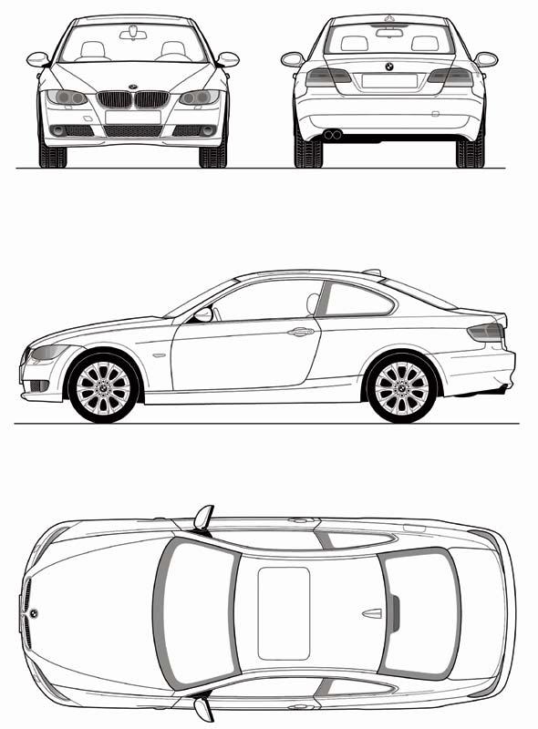 Foto: BMW 3er Coupé Ansichten (vergrößert)