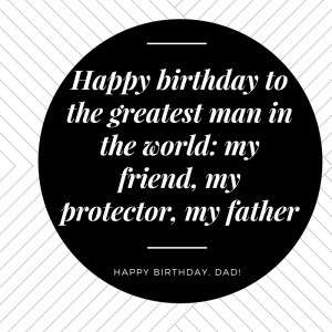 70th Birthday Wishes For Dad