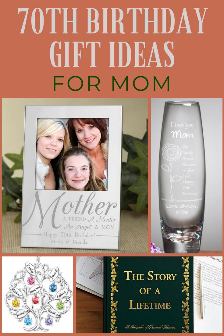 70th Birthday Gift Ideas for Mom | Unique 70th Birthday ...