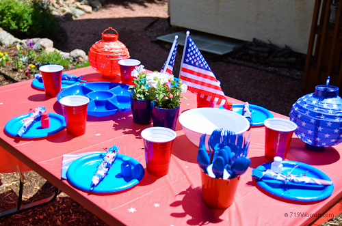 Pin It on Pinterest. Summer Table Setting Ideas. & Cheap and Fun Patriotic Table Setting Ideas   719Woman.com  