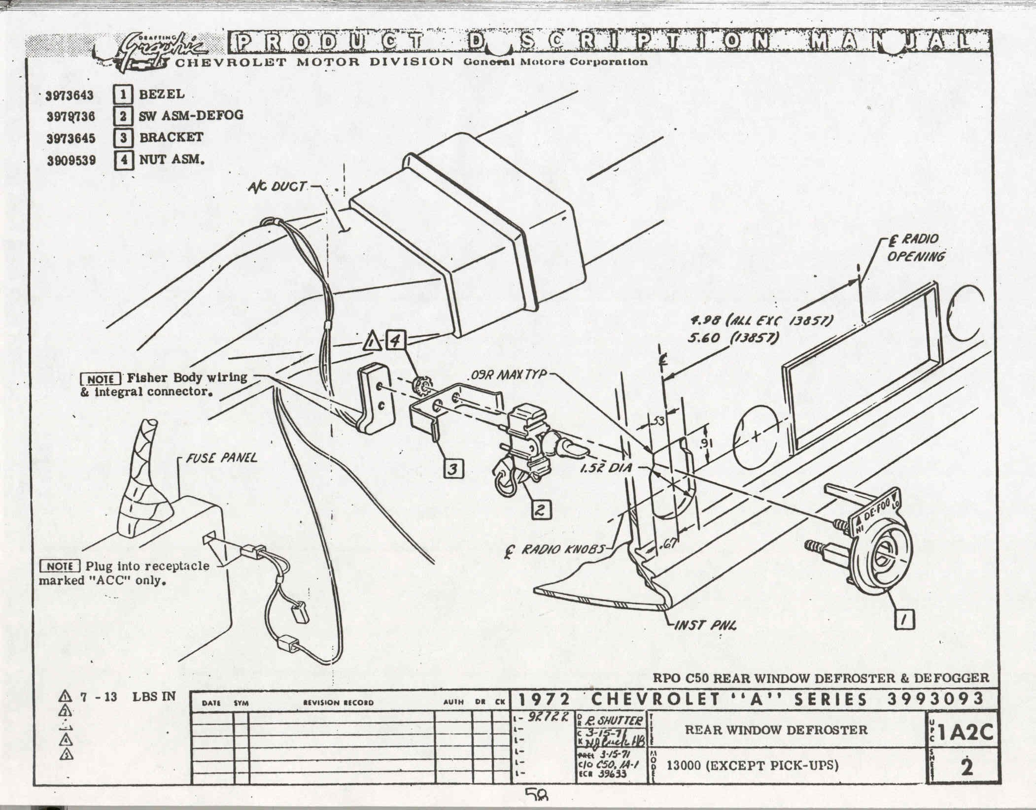 1967 Impala Engine Wiring Diagram