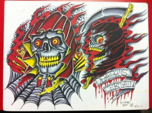 red black yellow reapers