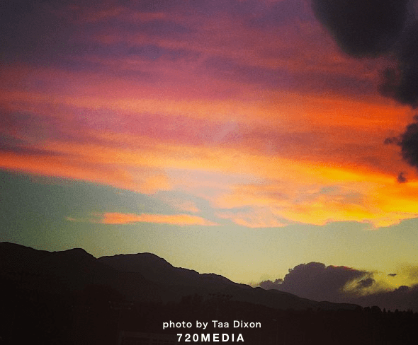 colorado springs sunset 720media web design