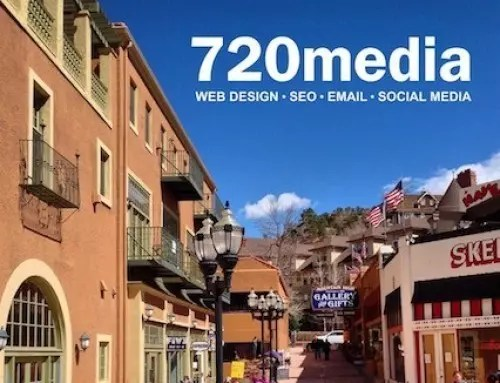 Manitou Springs Colorado WordPress website redesign