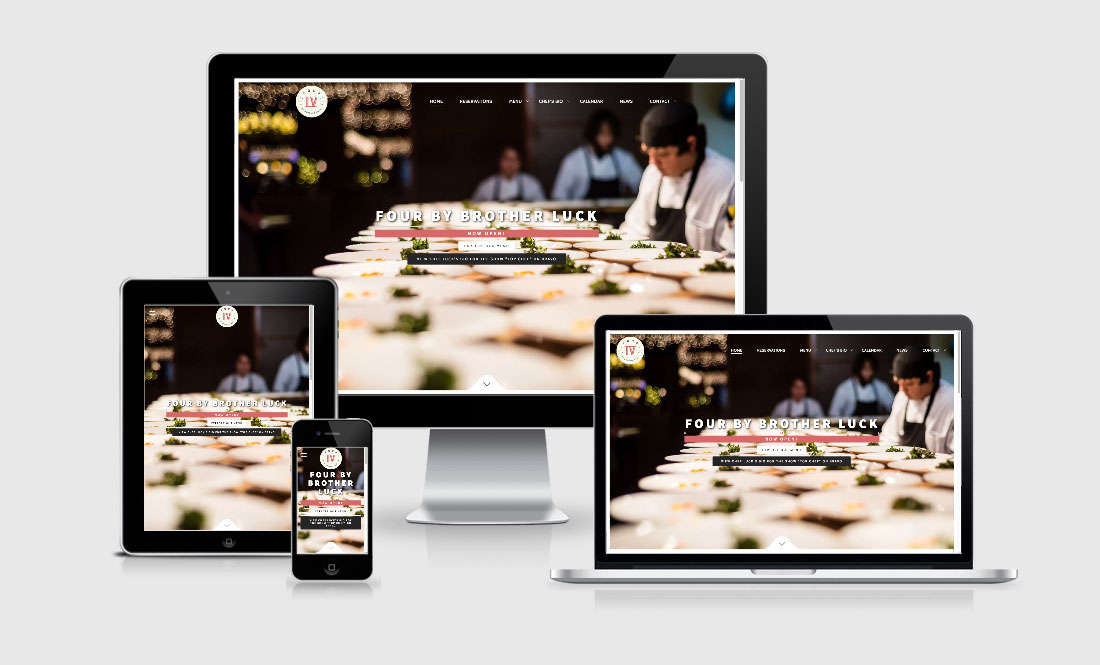 colorado springs chef brother luck website design wordpress