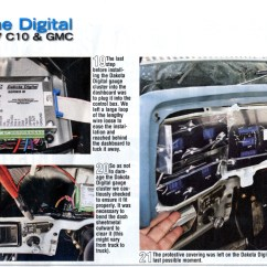 Dakota Digital Wiring Diagram Hensim 50cc Atv Instructions Gauges