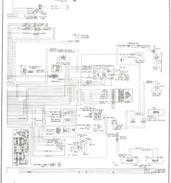 complete 73 87 wiring diagrams rh forum 73 87chevytrucks com 77 chevy truck wiring schematic turn [ 1492 x 1979 Pixel ]