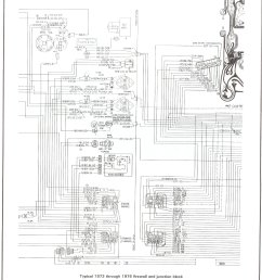 complete 73 87 wiring diagrams gmc wiring diagram 73 76 firewall junction [ 1488 x 1991 Pixel ]