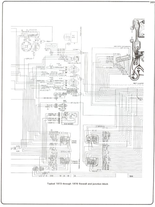 small resolution of complete 73 87 wiring diagrams gmc wiring diagram 73 76 firewall junction