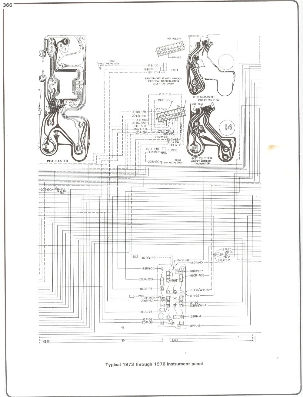 medium resolution of complete 73 87 wiring diagrams3500 chevy dash cluster wire diagram 14