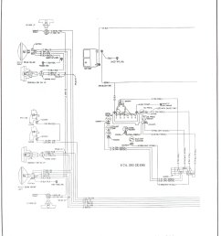 complete 73 87 wiring diagrams77 80 250 i6 engine wiring and front lighting [ 1496 x 1959 Pixel ]
