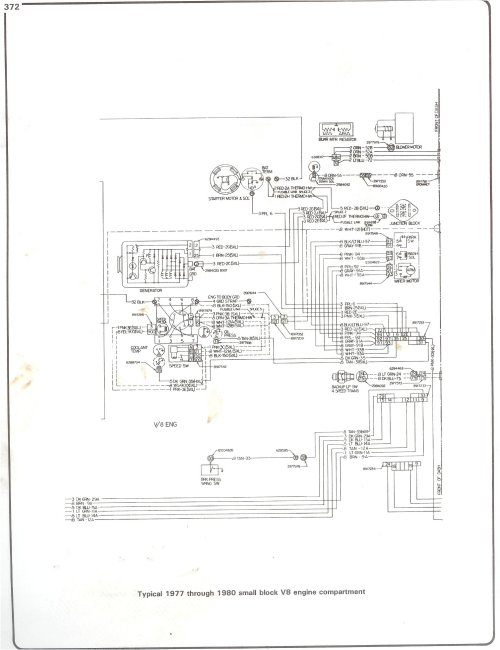 small resolution of  89 chevy tail light wiring schematic 77 80 sbc engine wiring