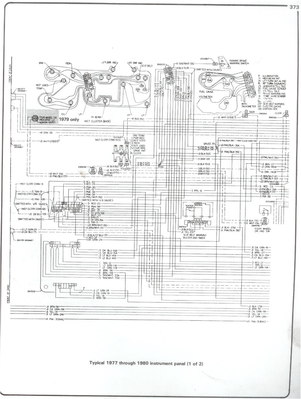 medium resolution of 77 80 intrument panel page 1