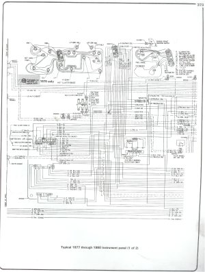 Under hood Wiring Schematic for 1978 Cheny Blazer | Chevy