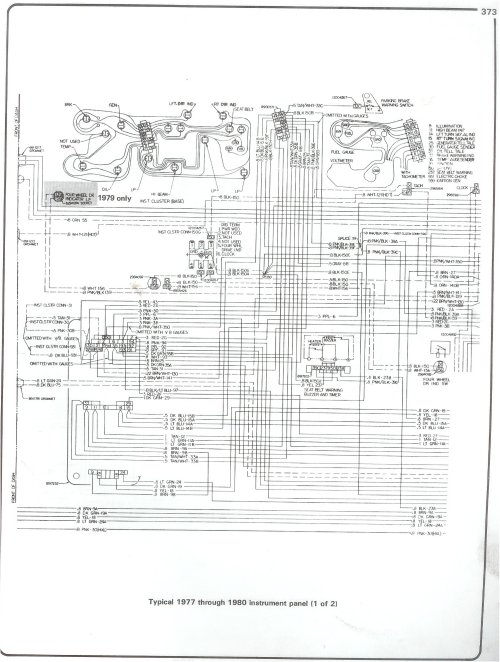 small resolution of 77 80 intrument panel page 1