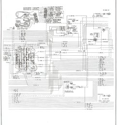complete 73 87 wiring diagrams chevy truck headers 1982 chevy truck dash wiring [ 1488 x 1963 Pixel ]