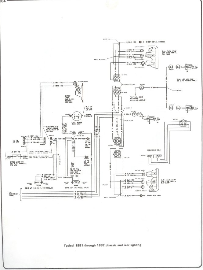 wiring diagram for 76 chevy trucks wiring diagram 76 corvette wiring diagram 1977 1982
