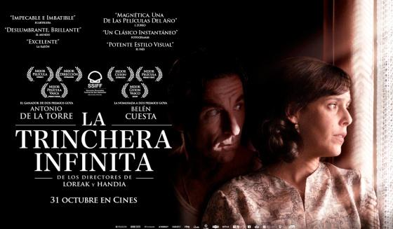 'La trinchera infinita' abre segunda semana Sección Oficial 27º Festival Cine Español