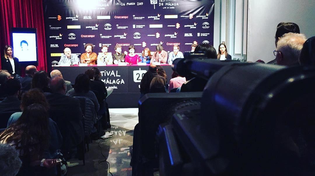 Asistimos a la rueda de prensa del equipo de «Selfie» #20FestivalMalaga