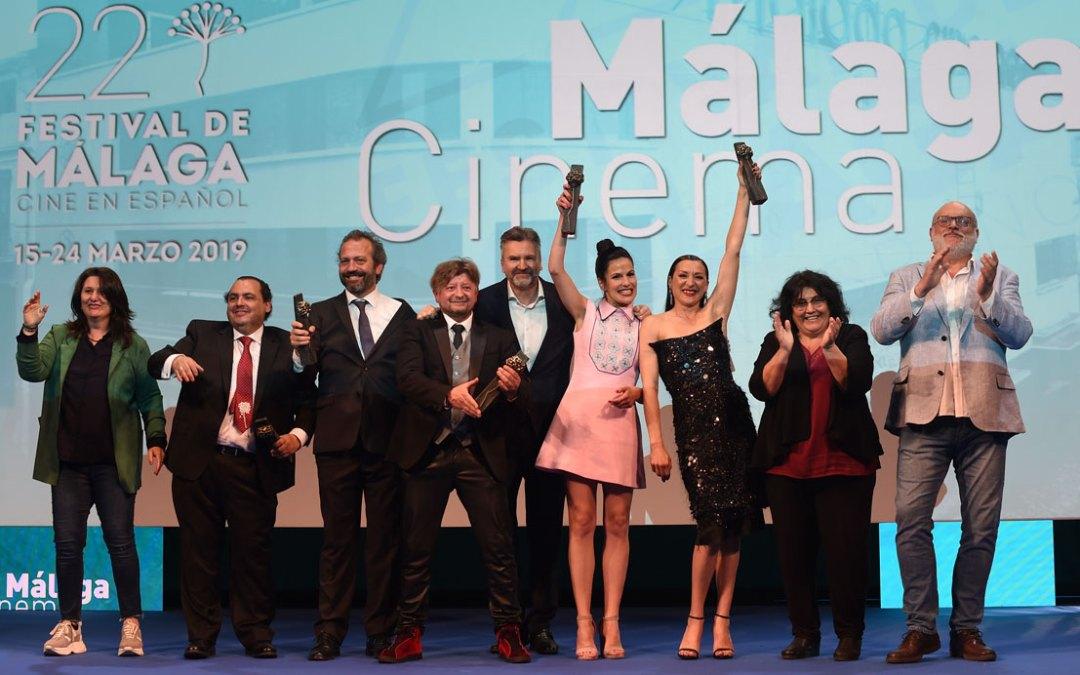 La gala Málaga Cinema entrega los premios del Festival a la industria cinematográfica malagueña