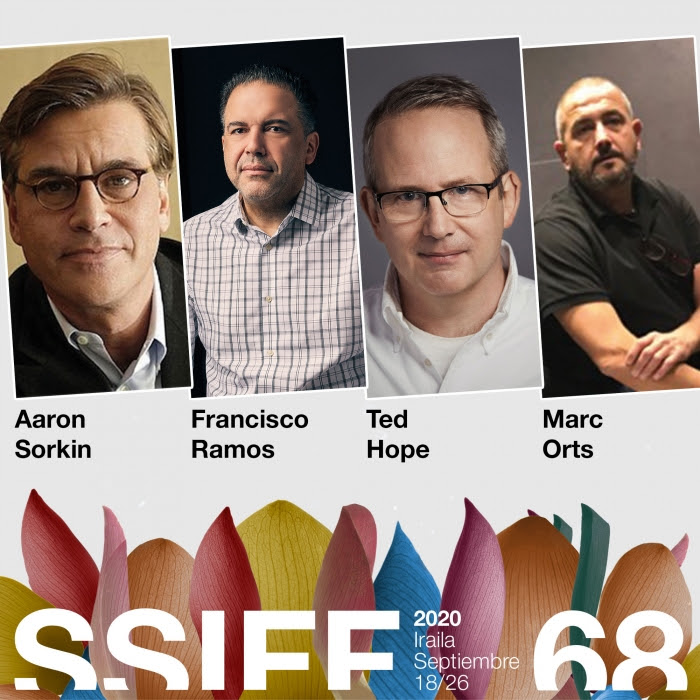 Aaron Sorkin, Francisco Ramos, Ted Hope y Marc Orts protagonizarán las Conversaciones y Clases magistrales de Pensamiento y Debate, la nueva área del Festival de San Sebastián