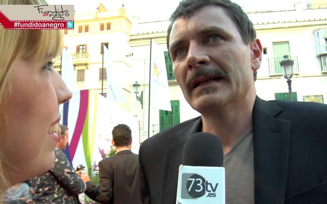 El actor Alex Brendemülh en la alfombra roja del 18 Festival de Cine de Málaga