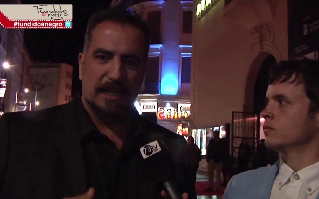 Festival de Málaga Rafa Chaves, actor de Akemarropa, habla de cómo es trabajar con F.J Arranz