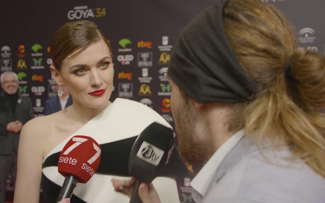 Premios Goya Marta Nieto en laAlfombra roja de los #Goya2020