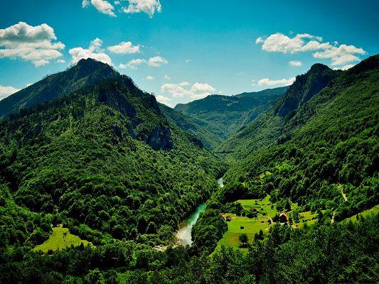 durdevica tara view from bridge wallpapers