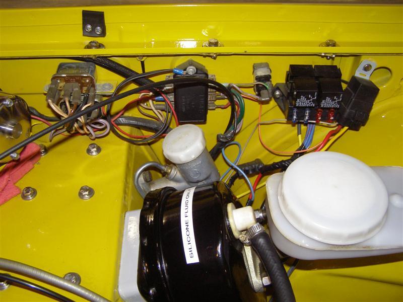 1976 Corvette Engine Compartment Diagram Fuse Panel Conversion