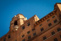 Baker Hotel Mineral Wells Abandoned in Texas