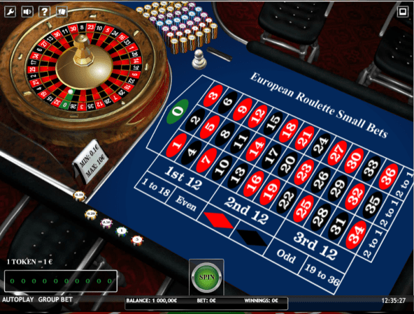 European Roulette Small Bets iSoft » FreeSlot Online ...