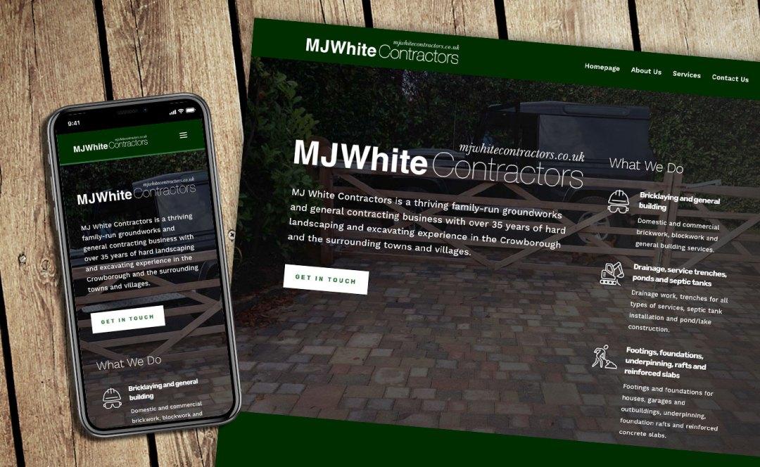 Smith & Green mobile and desktop website design