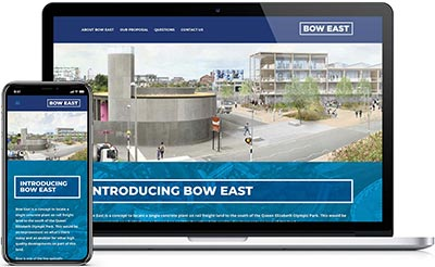 Web design for Bow East