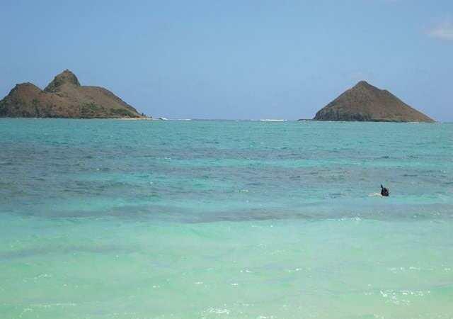 Lanikai Beach, una de las playas más bonitas del mundo.