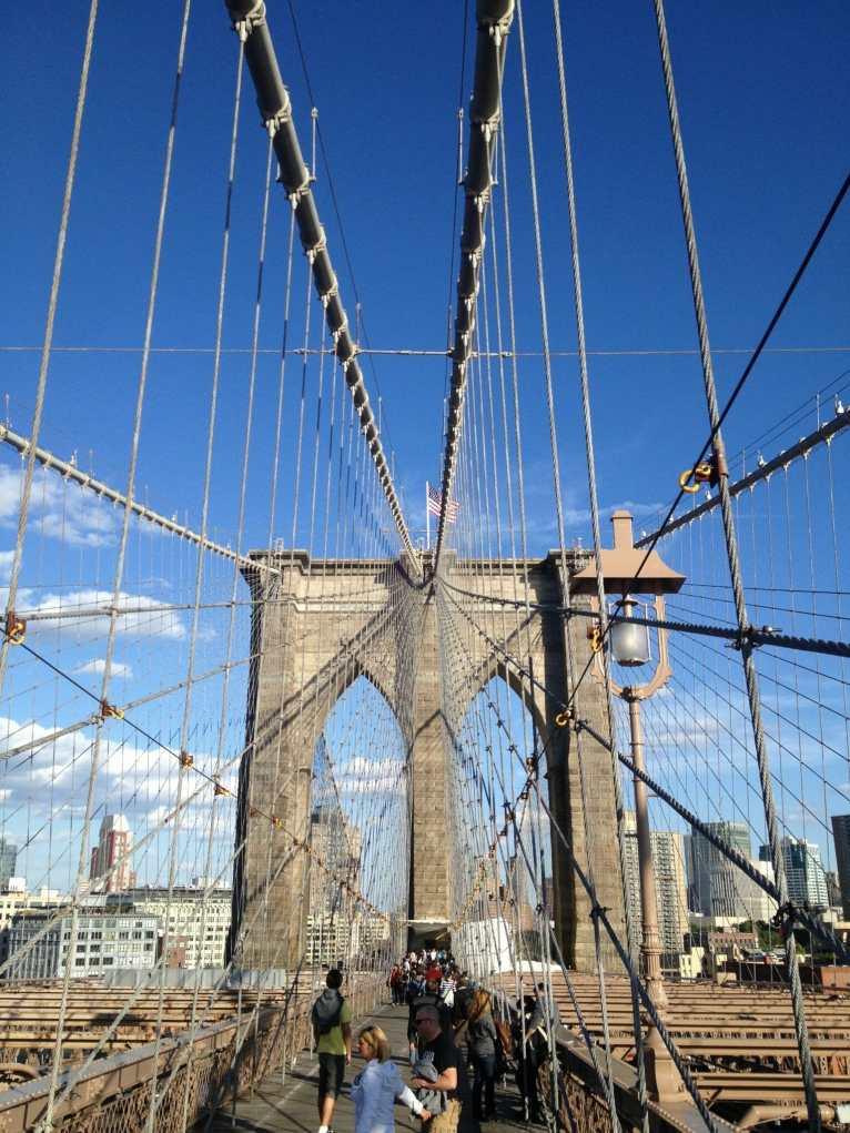 Ponte do Brooklyn, NYC.