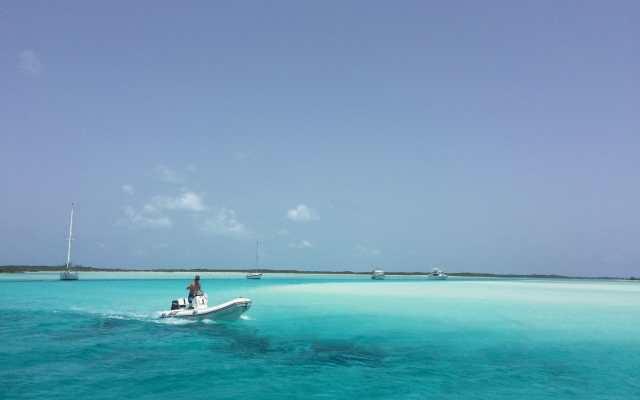 Sim, essa imagem é real e sem photoshop, Pipe Creek, Bahamas.