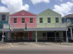 Centro histórico de Nassau, Bahamas.