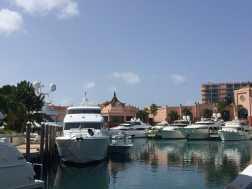Marina das Bahamas.