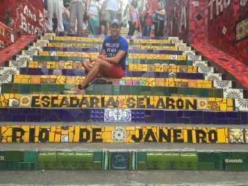 Selarón steps, Rio de Janeiro.