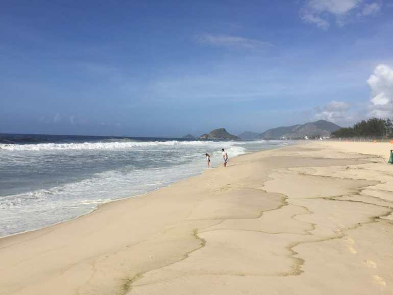 Recreio Beach, Rio.