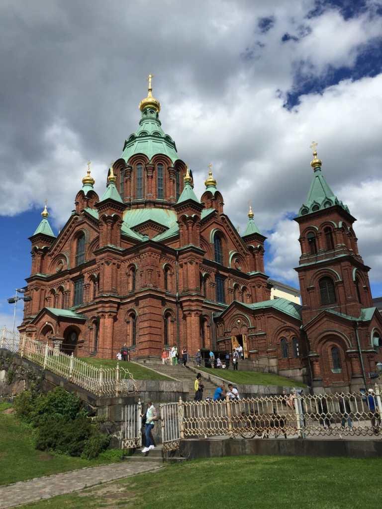 Uspenski Cathedral, Helsinki.